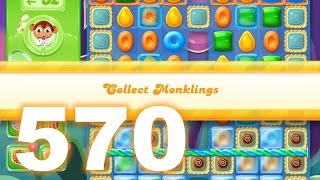 Candy Crush Jelly Saga Level 570 (3 star, No boosters)