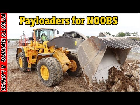 Payloader Basics For Beginners- How To Run, Operate & Understand Heavy Equipment Part 1