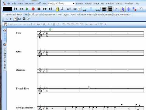 Formatting your score - Notation Software Video Tutorial Series