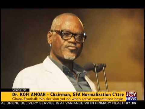 Ghana Football Resolution - AM Sports on JoyNews (12-12-18)