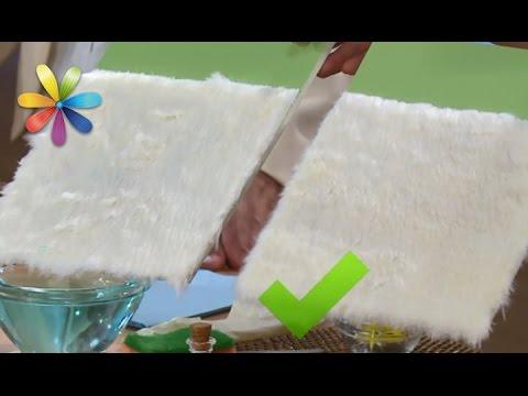 Как отбелить белый искусственный мех