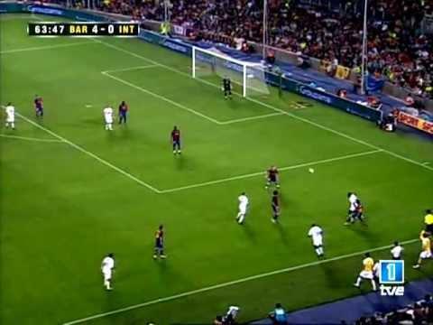 Fc Barcelona Vs Inter Milan Joan Gamper Trophy 29 08