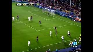 Fc barcelona vs. inter milan [joan gamper trophy] (29/08/2007) full match