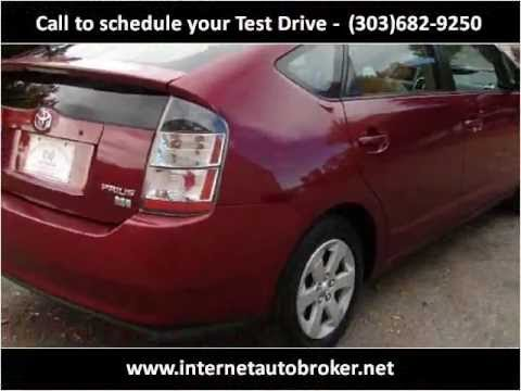 2004 Toyota Prius Used Cars For Sale LONGMONT CO 80501