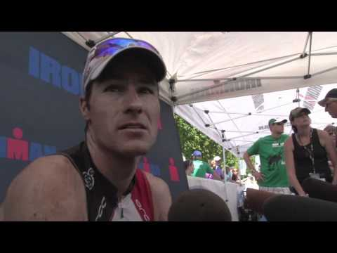 Craig Alexander Wins Ironman CDA 2011 (Post Race Interview)