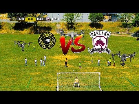 Full Match 07B | Lamorinda SC vs Oakland Select 2018 | Futbol Drones