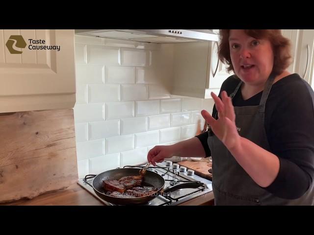 Corndale Pork Chops and Irish Black Butter