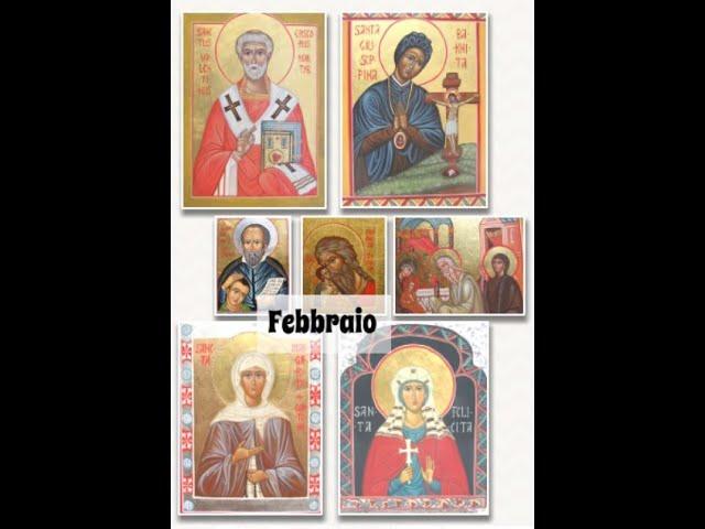 Icone sacre di FEBBRAIO