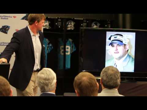 Carolina Panthers Jordan Gross Retirement Speech (Full Length)