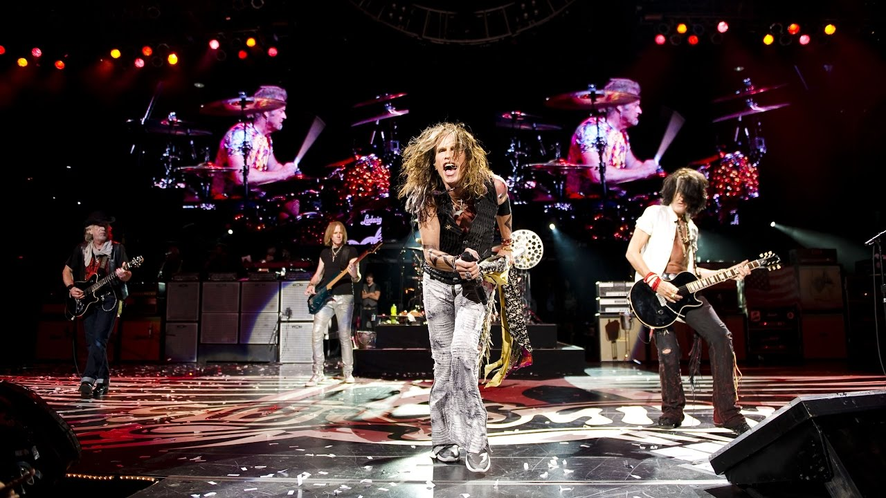 Aerosmith Live at DTE Energy Music Theatre, Clarkston, MI