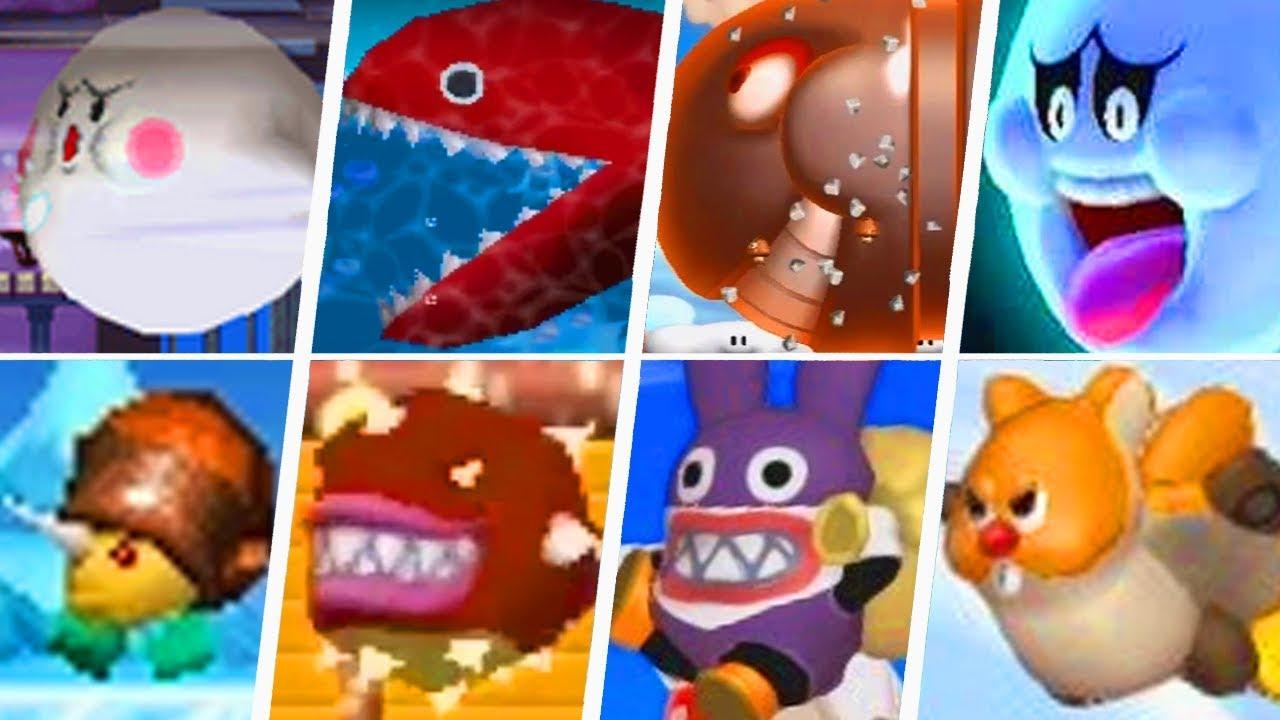 Evolution Of Underused New Super Mario Bros Enemies 2006 2019
