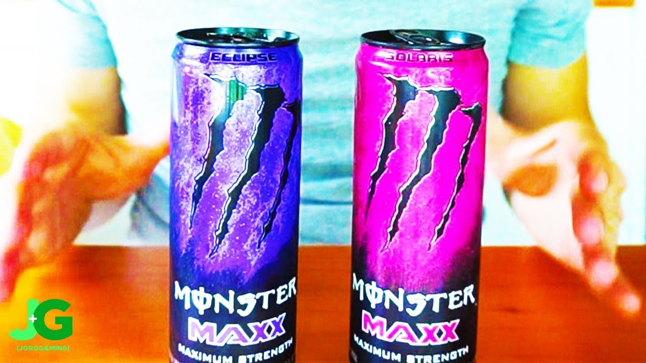 What Do These TWO New Monster Energy Drinks Taste Like? (Eclipse + Solaris)