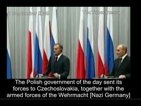 Putin turns the tables on Poland - awkward