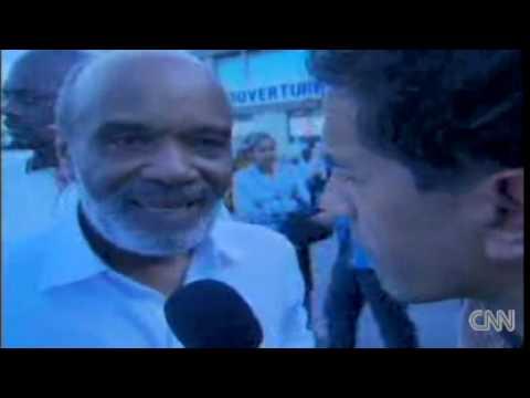 President haiti rene preval: 'My palace collapsed'