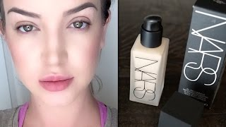 NEW! Nars Luminous all day weightless foundation: Review|Demo