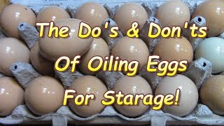 What you May NOT know About Preserving Eggs !