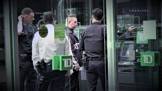 Caught On Camera: Man Robs TD Bank ATM in Queens