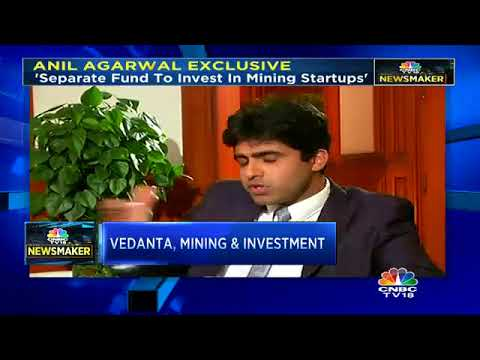 CNBC-TV18 Newsmaker With Vedanta Resources' Executive Chairman (Part 2)