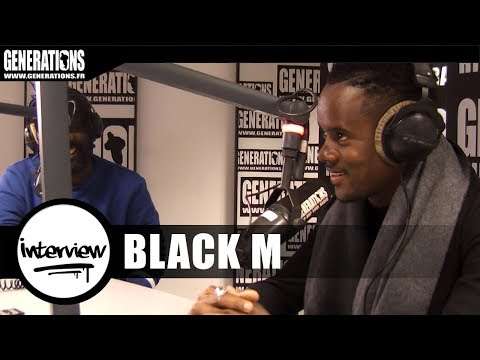 "Black M - interview ""Éternel Insatisfait""  (Live des studios de Generations)"