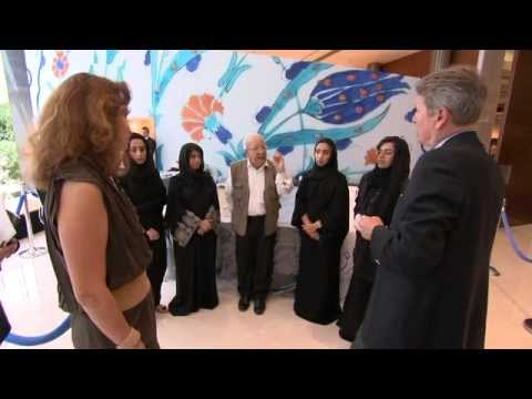 Nja Mahdaoui Collaborates with Four Young Emirati Artists
