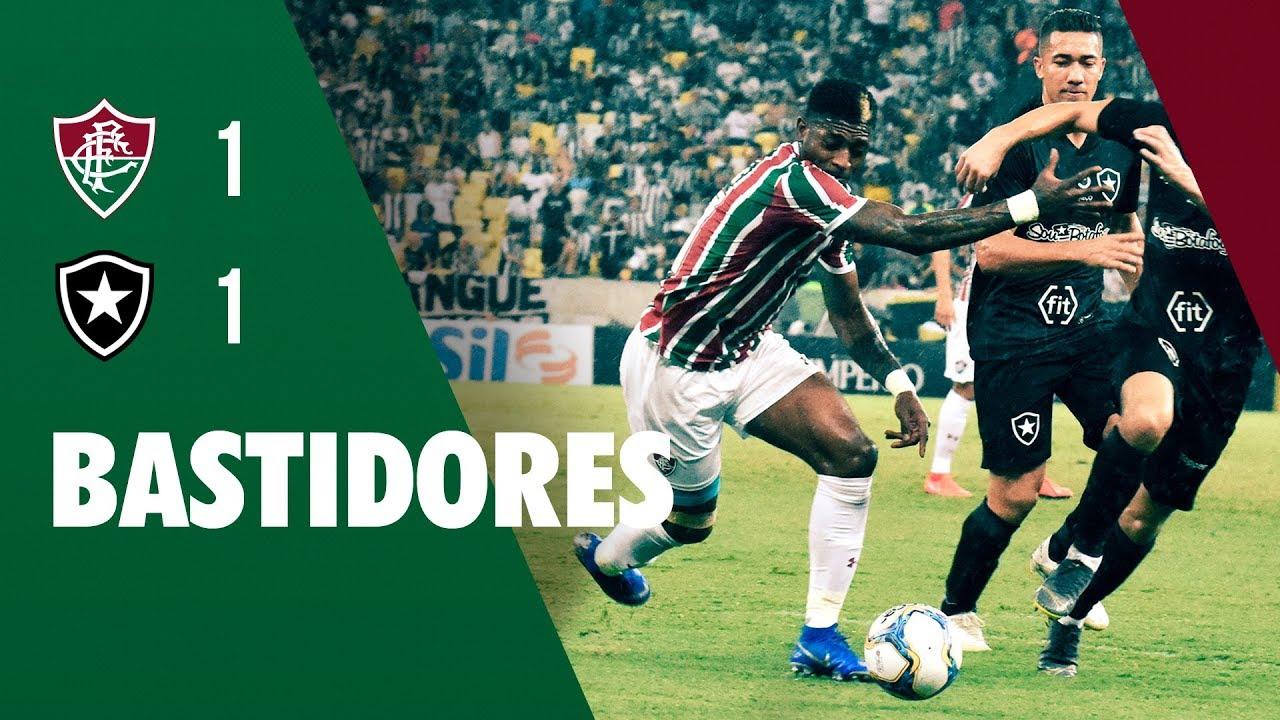 00baaa5bdf042 FluTV - Bastidores - Fluminense 1 x 1 Botafogo - Taça Rio. Fluminense  Football Club