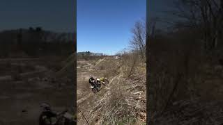 Hill climb turns into face plant