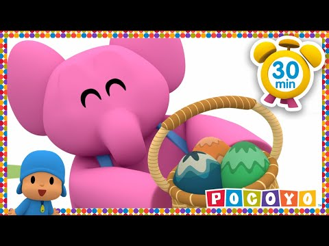 Pocoyo Easter Egg Hunt Patrol | NEW EASTER EPISODE HD