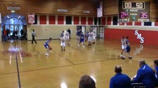 SMS 8th Grade Boys Basketball vs St Paul