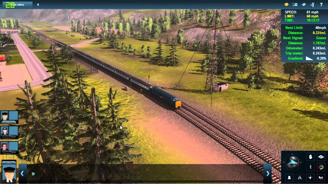 trainz a new era performance check ce fps counter