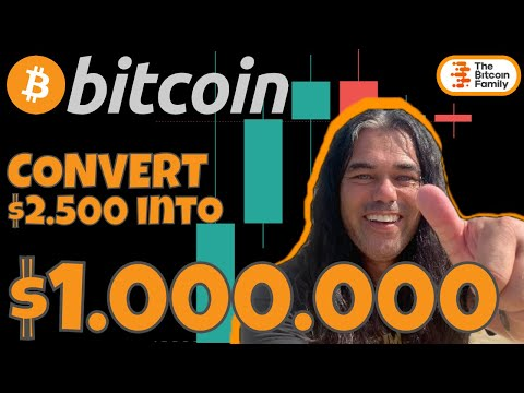 HOW TO CREATE $1.000.000 FROM $2500 in 365 DAYS WITH BITCOIN!!! This is how you do it!!