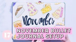 November 2018 Bullet Journal Setup | Plan With Me