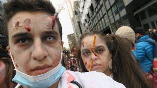La marche des zombies - Montréal Zombie Walk 2015