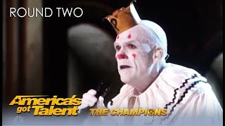 Download @Puddles Pity Party Is BACK To Find love on @America's Got Talent Champions Mp3 and Videos
