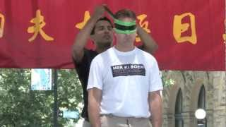 Blindfolded Wing Chun Demo