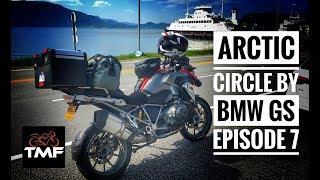 The Arctic Circle by BMW R1200GS - Episode 7 - Namsos south towards Alesund