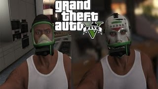 GTA5 TUTTE le maschere SEGRETE di FRANKLIN