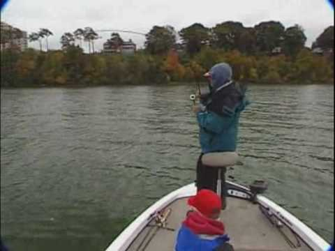Lake Erie Bass Fishing with Stacey King