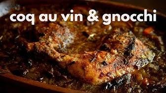 Toiveruoka: Kukkoa Viinissä ja Gnocchit