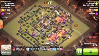 93% on High TH11! Out of Time! | Clash of Clans