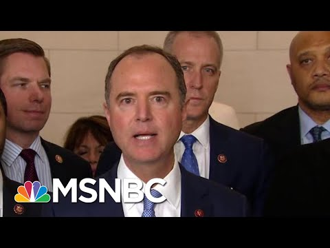 Schiff: Trump's Recent Tweets Are 'Part Of A Broader And Incriminating Pattern Of Conduct' | MSNBC