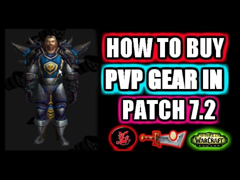How To Buy Pvp Gear With Echoes Of Battle Wow Patch 72 Youtube