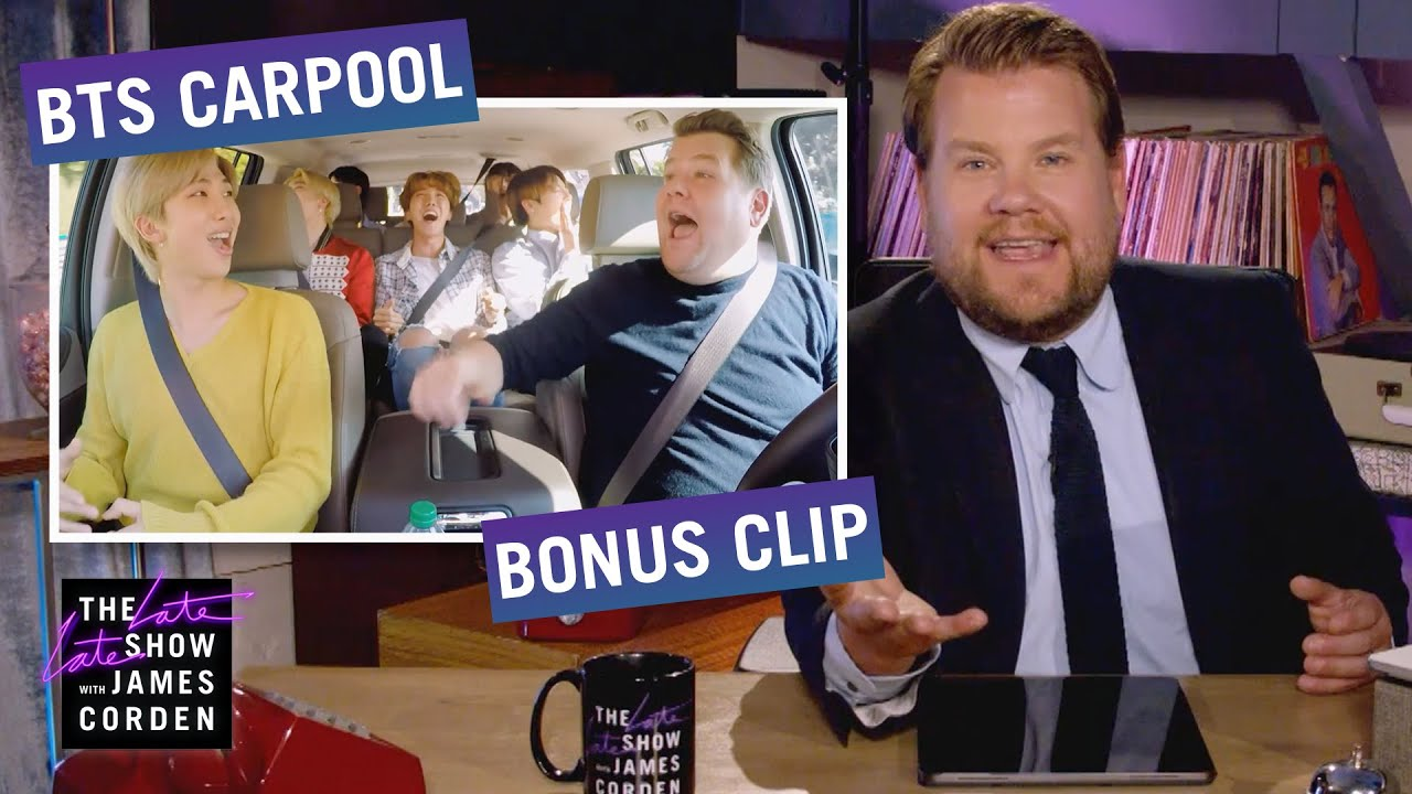 The BTS Army Are Mercenaries for Change - Carpool Karaoke Bonus Clip