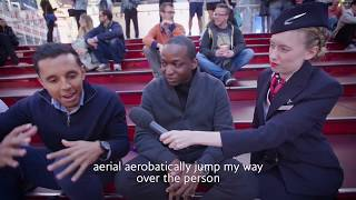 British Airways: Sleep Etiquette - The Climb Over