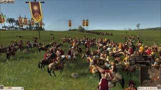 a Total War Rome II battle for Alexander the Great BIRTHDAY