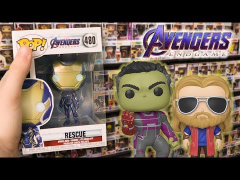 Avengers Endgame Spoilers Funko Pop Hunting