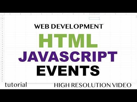 JavaScript Event Listeners, Click Event - HTML5 & JavaScript - Part 9