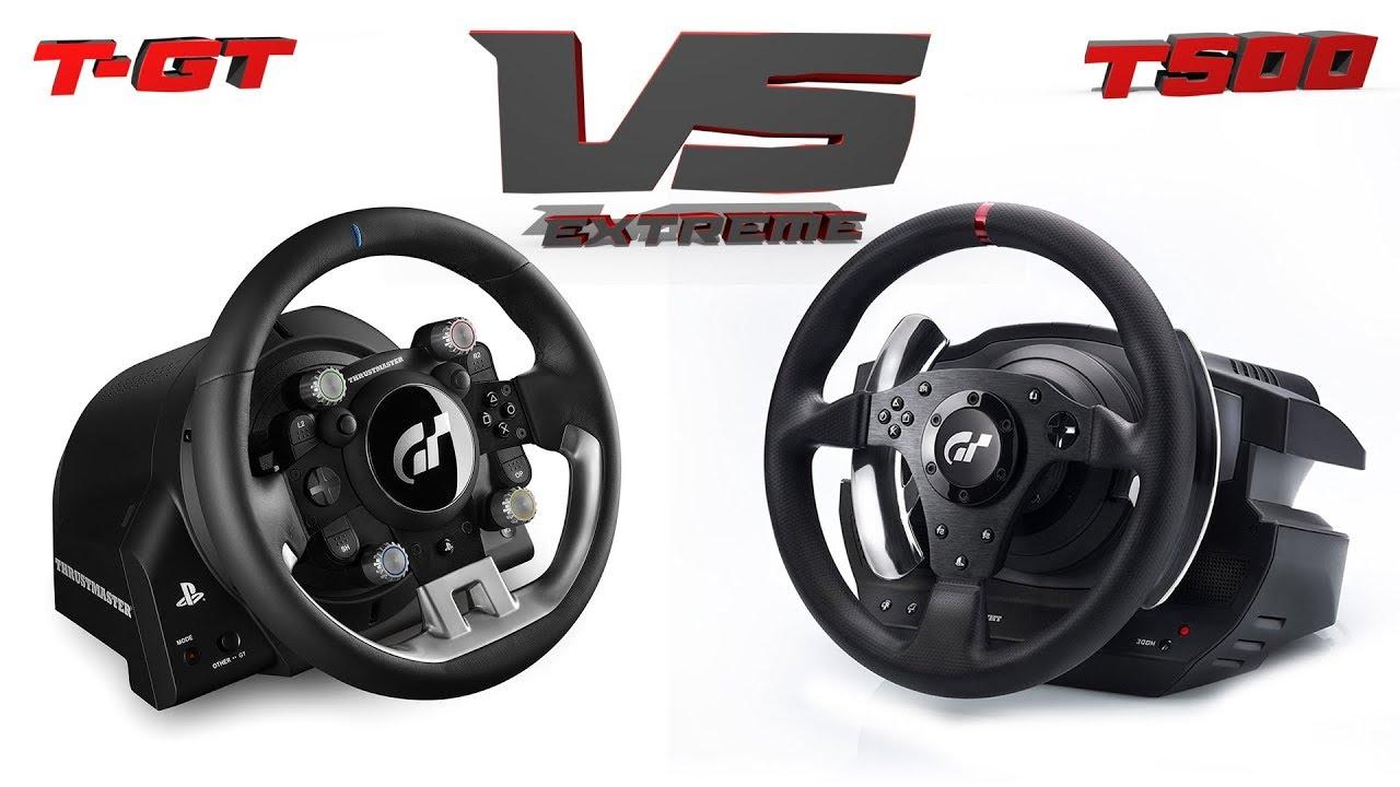 T-GT vs T500rs | 7 anos de avanço da Thrustmaster | Gandi na Extreme