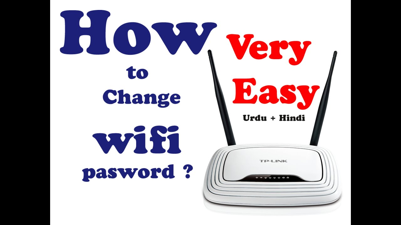 how to put password on wifi