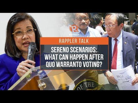Rappler Talk: Constitutional law professor Dan Gatmaytan on Sereno scenarios