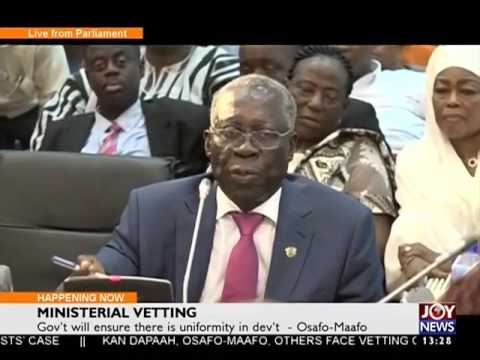 Decisions Made by Gov't are Monitored - News Desk on Joy News (20-1-17)